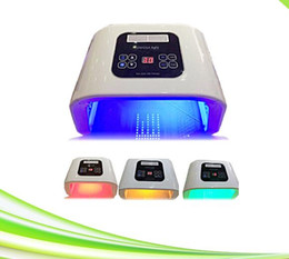 Wholesale Light Whitening System - portable red yellow blue blue light pdt face care whitening led face mask led light therapy mask system for rejuvenation