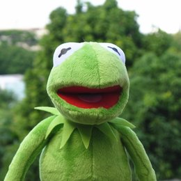 Kermit the Frog The Muppet Show 14 '' 40 cm Kermit peluche Sesame Street bambola animale rana peluche Bambola di pezza da