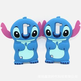 Wholesale Cute Silicone Lg Phone Cases - 3D Cute Cartoon Soft Silicone Rubber Stitch Back Cover Phone Case For LG G5 K5 K7 K8 K10 V10 Q7 Q10 Samsung A5 A7 2016 A510 A710