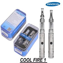2019 innokin cool kit de départ de feu Gros-Nouveau Original Innokin Cool Fire 1 Starter Kit Cigarette électronique COOL FIRE 1 avec iClear 30S Clearomizer innokin cool kit de départ de feu pas cher