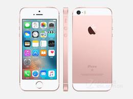 "Wholesale Iphone A9 - Original Unlocked Apple iPhone SE 4.0"" inch 16 64 GB ROM 2GB RAM 12MP A9 Chip iOS 9.3 Fingerprint Dual-core 4G LTE refurbished Smartphone"