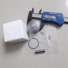 Wholesale Baja Kit - Piston kit 32mm for HPI BAJA KM CY SIKK KING Chung Yang Rovan Zenoah Komastu G230RC 23CC 1 5 1:5 R C 5B   5T RC ring pin clip