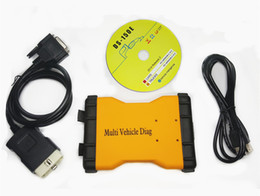 Wholesale Multi Diag Truck - Newest MVD Multi Vehicle Diag Free Activate 2015 R3 OBD2 Car Truck Diagnostic Scanner TCS New 3IN1 VCI