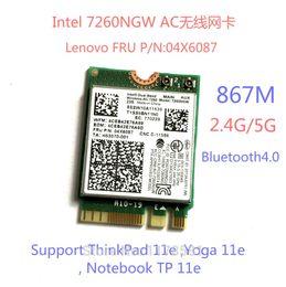 Wholesale Intel Thinkpad - Wholesale- Brand new for Intel 7260NGW 7260ac 7260 ac WIFI CARD 2.4 5G BT4.0 FRU 04X6087 For Thinkpad 11e Yoga 11e Notebook TP 11e