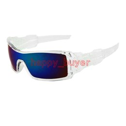 Wholesale Sun Wind Glasses - Wholesale Super Cool Summer Outdoor Cycling Wind Goggle Eyewear Sunglasses Oil Rig Classic Fashion Designer Sun Glasses Resin Lenses