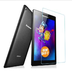 Wholesale Glass Tablet Lenovo - Wholesale-Tempered Glass Screen Protector Protective Film For Lenovo Tab 2 A7-20F 7.0 inch Tablet Explosion-Proof Guard Film