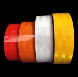 Wholesale Fluorescent Film - 2015 5CM x 1M DIY Fluorescent Reflective Sticker Automobile luminous strip car & motorcycle Decoration Sticker reflective tape