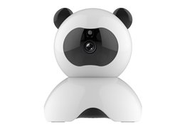Wholesale Night Pandas - CCTV Surveillance Security Cameras Panda WIFI HD Camera Audio Record Surveillance Baby Monitor HD Mini CCTV
