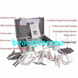 Wholesale Bio Magic Gloves - BIO Magic Glove Microcurrent Face Lift Facial Machine for Tighting Facial Skin Spa Salon Professional Microcurrent Beauty Machine