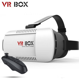 Wholesale Video Glasses Games - New Virtual Reality VR BOX II 2.0 Version 3D Glasses Google Cardboard VR Glasses 3D Video Movie Game For Smartphones 4.7-6 inch