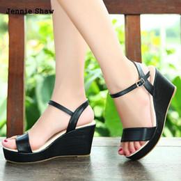 70bf5077 Verano bohemia plataforma sexy cuñas sandalias femeninas zapatos de tacones  altos 30 31 32 33 41 42 43