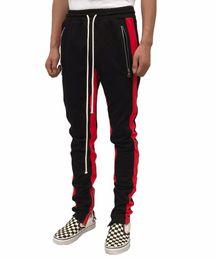 NUEVO 9 COLOR Hombres Mujeres Justin Biebe Pantalones Largos Miedo a Dios Pantalones FOG biker Pantalones Sueltos Hip Hop Encuadre de cuerpo entero Pantalón Casual S-XL desde fabricantes