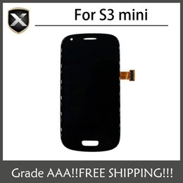 Wholesale Display Galaxy S3 Mini - Grade AAA+ For Samsung Galaxy S3 Mini i8190 LCD Display With Touch Screen&Free Shipping