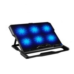 platten weniger Rabatt Notebook Cooler Laptop Kühlkörper Kühler 14 / 15,6-Zoll-Stummschaltung Windgeschwindigkeit Temperatur schnell abkühlen