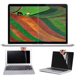 Wholesale 15 Laptop Screens - Clear Reusable Washable Screen Protector Compatible With MacBook Air 11.6 12 13.3 inch Por 13.3 retina 15.4 inch 99% UV Protection