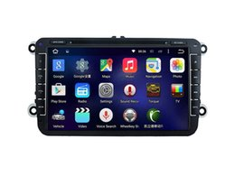 Wholesale Gps For Golf - 8'' Quad Core Android 5.1.1 Car DVD Player For VW GOLF(MK6)2009-2011 GOLF(MK5)2003-2009 POLO(MK5)2010-2010 PASSAT 2010-2011