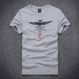 Wholesale Black Eagle Order - 2016 Hot US Style Eagle Air force men polo shirts round neck militare causal men tees polos Men's Clothing mix order