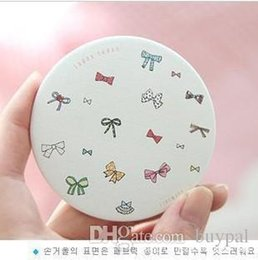 Wholesale Lapin Cute - Free Shipping by DHL Wholesale 200pcs lot New cute fifi lapin hand make-up Mirror pocket Cosmetic Round compact Mirror RJ1207 0416dd