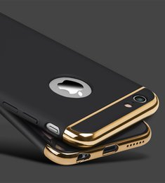 Wholesale Gold Plated Phone Cases - New Arrive Case for Apple iPhone 6 6s phone shell luxury plating Phone Case for iphone 6 6s plus