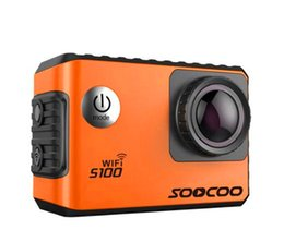 Wholesale Sports Extensions - SOOCOO S100 Action Sports Camera 4K Wifi Built-in Gyro with GPS Extension
