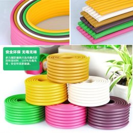Wholesale Safety Corner Protection - Colorful multifunction NBR baby protection strip rubber bumper strip kids safety baby safety Corner Edge Cushions