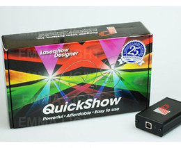 Wholesale Ilda Laser Show Software - Pangolin Quickshow quick show USB ILDA PC Pro animation Laser Light Show Designer Controller Software Free Shipping