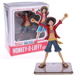 Wholesale Luffy Years After - One Piece Monkey D Luffy Two Year After Action Figures PVC Doll Anime Toys Japanese Cartoon Doll Toys