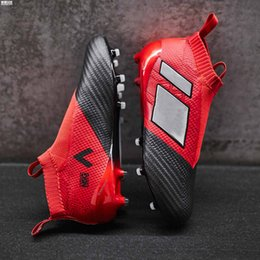 Wholesale Media Control - 2017 Cheap Wholesale ACE 17+ PureControl FG ACE 16 Men's Pure Control Football Shoes Soccer Cleats shoes Quality Football cleats boots Shoes