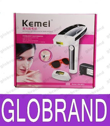 Wholesale Wax For Hair Removal - KEMEI KM-6812 Photon Hair Removal Device Laser Epilator Permanent hair reduction for full Body Hair Removal Laser Epilator Lady Shaver GLO84