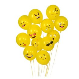 Wholesale Universe Toys - Emoji Universe Series One: Emoji Smiley Face Latex Balloons, 100-Pack