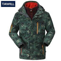 Wholesale Winter Snowboard Coat Men - Fall-TAWILL Brand winter warm snowboard jacket waterproof windproof thermal coat 2016 camping winter ski jacket men