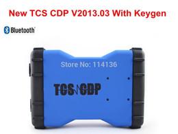 Wholesale Diagnostic Test Pc - Wholesale-2 PCS  LOT New TCS CDP PRO Diagnostic Tool TCS CDP Pro Plus Can Test CAR+TRUCK With Bluetooth and Plastic Box