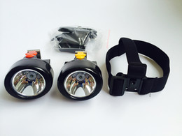 Wholesale Miners Headlamp For Hunting - 12 Pieces Lot Wireless 3W LED Mining Head Lamp Light for Miners, Camping, Hunting Free Shipping