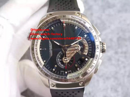 Wholesale Watch Rs - Luxury Best Edition Watch HBB V6 Factory 43mm Caliber 36 RS 36RS CAV5115 Chronograph Swiss ETA 7750 Movement Automatic Mens Watches