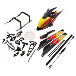 Wholesale Multy Bag - Rc Helicopter Accessories Bag Spare Parts for WLtoys V913 4CH 2.4GH