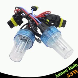Wholesale Hid Headlight Replacement Bulbs H11 - 55W H1 H3 H7 H8 H9 H11 880 881 9005 HB3 9006 HB4 Replacement Xenon HID Bulb 3000K 4300K 6000K 8000K For Car Headlight Fog Lamp