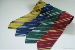 Wholesale Film Houses - Harry Potter Tie Halloween Costume HARRY POTTER STYLE HOUSE TIES FANCY DRESS COSPLAY FILM REPLICA WORLD