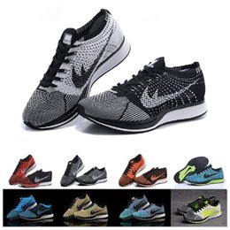 Wholesale racer blue - 2017 New Racer Free Run Lunarepic running Shoes For Men Women Casual Racers Lightweight Breathable Lunar Epic Lunarepics Sneakers 36-45
