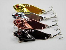 Gros Spinnerbait Métal 5 cm 10.8g VIB Lames Spinner leurre de pêche 4colors cuillères appât ? partir de fabricateur