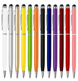 Wholesale Tablet Muti Touch Screen - 2 in 1 Muti-fuction Capacitive Touch Screen&Writing Stylus and Ball Point Pen for all Smart CellPhone&Tablet Free Shipping