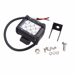 "Wholesale 18w Work Light - 4"" inch 18W Cree LED Work Light Bar Lamp Motorcycle Tractor Boat Off Road 4WD 4x4 Truck SUV ATV Spot Flood 12v 24v"