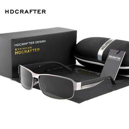 Wholesale Pc Modes - Mode Polarisierte Driving Männer Sonnenbrille UV400 Marke Design Rechteck Eyewear mit Hoher Qualität Oculos Kostenloser Versand 2018