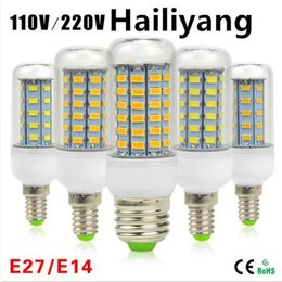 Wholesale G9 Led Bulb 1w - SMD5730 E27 GU10 B22 E14 G9 LED lamp 7W 12W 15W 18W 20W 220V 110V 360 angle SMD LED Bulb Led Corn light