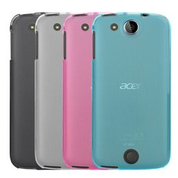Wholesale Back Cover For Acer - Acer Liquid Jade Z Jade S Case New Silicone Pudding Matte Soft TPU Back Cover Case