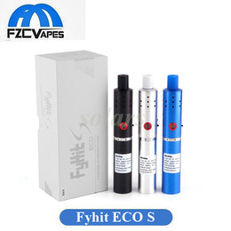 Wholesale Blue Upgrades - Authentic Ciggo Fyhit ECO S Herbal Vaporizer Starter Kit Upgraded Herbstick 2200mah Dry Herb Vaporizer Vape Pen with Ceramic Heating Chamer