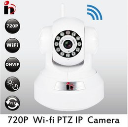 Wholesale Network Security Cam Hd - HY free ship onvif HD 720P IP Camera home p2p hd camera wi-fi Camara Wireless Wifi Security IR CUT network webcam ip cam