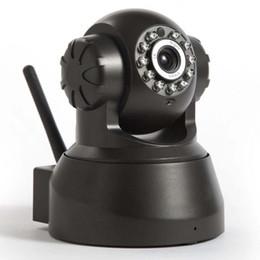 Inclinación de la cámara online-Cámara IP inalámbrica WIFI Webcam Visión nocturna (HASTA 10M) 10 LED IR Dual Audio Pan / Tilt Support IE S61