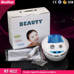 Wholesale Home Use Diamond Microdermabrasion Machine - Hot selling cheap portable home use vacuum suction facial skin exfoliator diamond microdermabrasion machine for salon