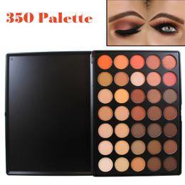Wholesale Earth Warms - Wholesale-Professional 35 Color Eyeshadow Palette Earth Warm Color Shimmer Matte Eye Shadow Beauty Makeup Set