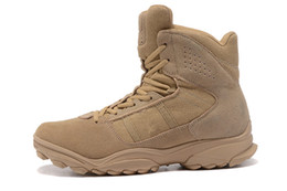 Wholesale Tactical Climbing Boots - GSG-9.3 High Tops Sneakers men climbing hiking combat training running shoes outdoor tactical boots desert boots size 40-46